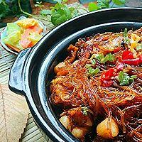 海皇蟹黄干捞粉丝煲-海鲜大闸蟹精华-蜜桃爱营养师私厨