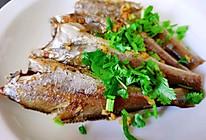 低脂快手菜--干煎椒盐小黄鱼的做法