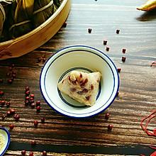 #甜粽VS咸粽,你是哪一党?#红豆小米粽