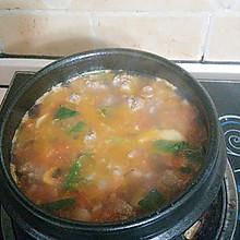 西红柿牛肉丸汤