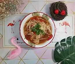 巴沙鱼番茄汤(减脂菜单)的做法