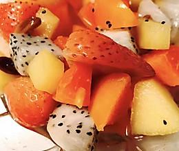 酸酸甜甜水果捞【月子餐】的做法