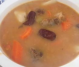 排毒防癌红色营养汤的做法