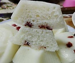 消耗大米粉的好去处——软糯香甜米发糕的做法