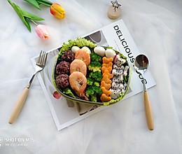 #精品菜谱挑战赛#创意食谱~藜麦饭果蔬便当的做法