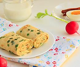 十分钟快手早餐~蔬菜蛋煎饼的做法