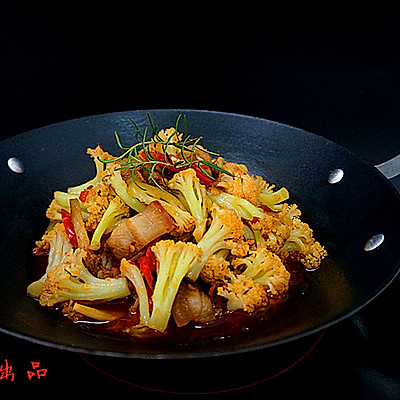 干锅香辣花菜