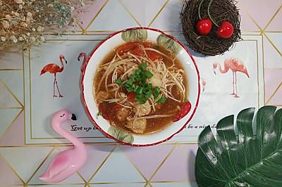 巴沙鱼番茄汤(减脂菜单)