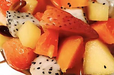 酸酸甜甜水果捞【月子餐】
