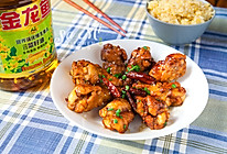 #金龙鱼营养强化维生素A纯香 新派菜籽油#红烧鸡翅根的做法