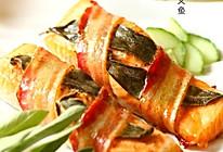 培根香绕三文鱼的做法