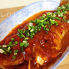 茄汁鱼(鲈鱼版)