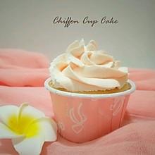 #父亲节,给老爸做道菜#粉红恋人~戚风纸杯蛋糕