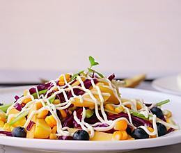 快手减酯早餐蔬果沙拉的做法