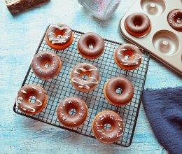 蛋糕甜甜圈原来这么简单的做法