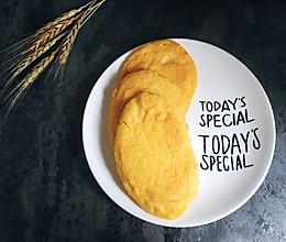 健康营养的豆浆玉米饼 减肥瘦身的轻主食 老人会很喜欢的做法