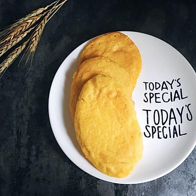 健康营养的豆浆玉米饼 减肥瘦身的轻主食 老人会很喜欢