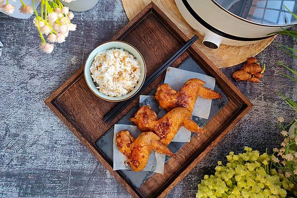 快手菜,味道浓郁又下饭的沙姜焖鸡翅