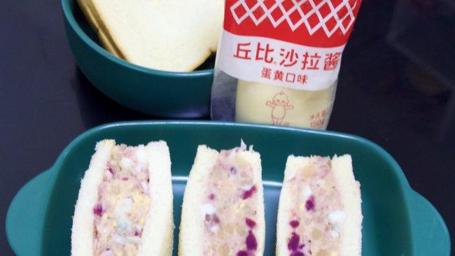 #一起土豆沙拉吧#土豆泥沙拉三明治的做法