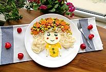 花仙子早餐面#高颜值儿童便当#的做法