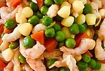 松仁玉米虾仁菜的做法