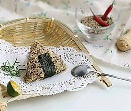 #做道懒人菜,轻松享假期#健康瘦身的藜麦饭团的做法