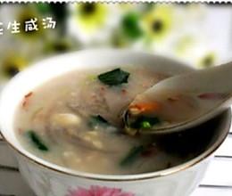 简单咸汤的做法