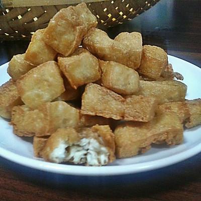 自制豆腐泡(油豆腐)