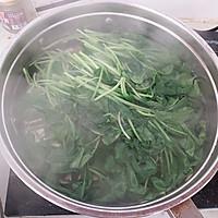 #花10分钟,做一道菜!# 蒜香鸡毛菜的做法图解1