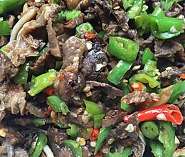 青椒猪肺(下饭的平民菜)附清洗方式的做法