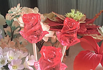 甜蜜初恋感的水晶棒棒糖的做法