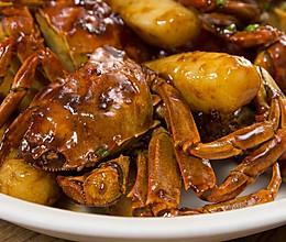 毛蟹年糕|美食台的做法