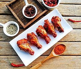 自制蜜汁烤鸡翅根的做法