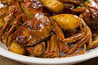 毛蟹年糕|美食台