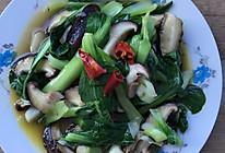 香菇菜心的做法