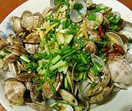 最嫩的葱油蛤蜊的做法