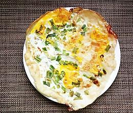 快手早餐------鸡蛋饼的做法
