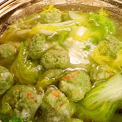 翡翠丸子汤