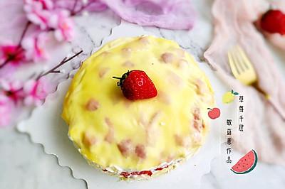 #百变水果花样吃#草莓千层蛋糕