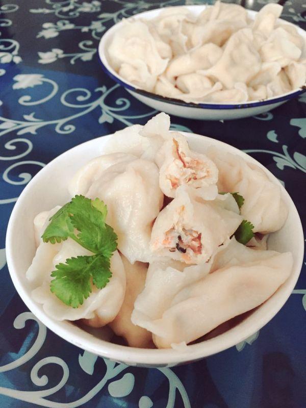 虾仁三鲜饺子的做法