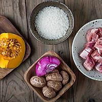 南瓜排骨焖饭的做法图解1