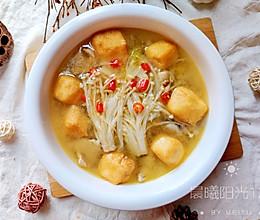 #我们约饭吧#炎热的夏天来一碗简单开胃的豆泡肉片汤的做法