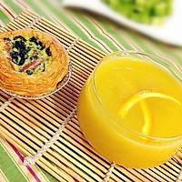 夏日排毒必备饮品---香橙柠檬苦瓜汁的做法图解9
