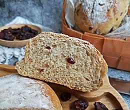 #节后清肠大作战#红糖蔓越莓全麦面包的做法