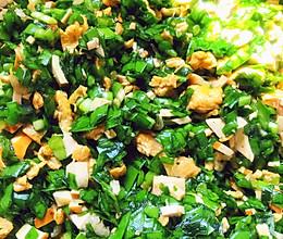 #餐桌上的春日限定#秘制韭菜饺子馅的做法