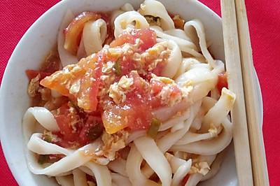 【美味面食】西红柿鸡蛋打卤面
