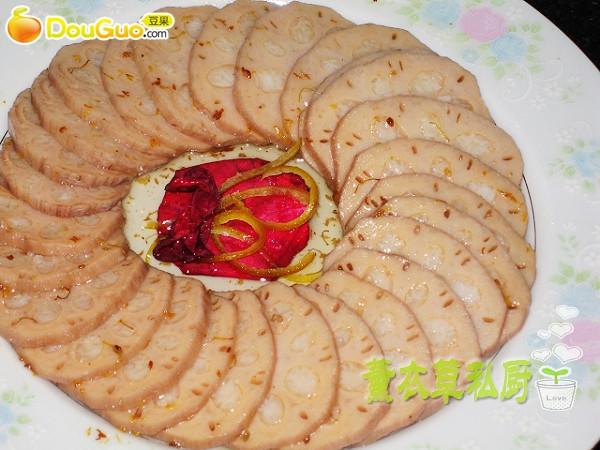 桂花糯米藕-——豆果美食的做法