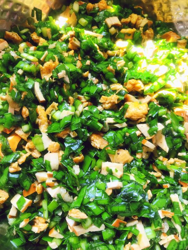 秘制韭菜饺子馅的做法