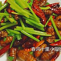 干煸蚕蛹(小厨娘)