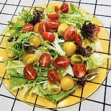 #美食视频挑战赛#拌个简单的蔬菜沙拉